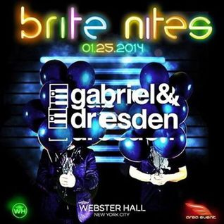 Gabriel & Dresden - Live @ Webster Hall (New York) - 25.01.2014