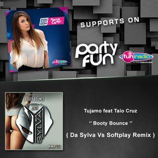 Maeva Carter Supports Da Sylva remix 033 ''Booty Bounce'' on Fun Radio