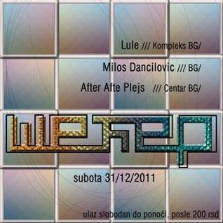 Milos Dancilovic@Secer Club 31.12.2011 pt.1