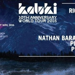 Richy Ahmed @ Kaluki 10th Anniversary, Wah Wah Beach Bar - 16 January 2016