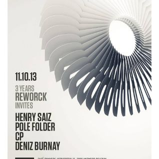 Pole Folder - Live at 3 Years Birthday Of Reworck, Cafe d'Anvers (11-10-2013)