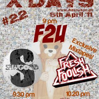 F2U Live > X-Days Radioshow #22 (06.04.2011)