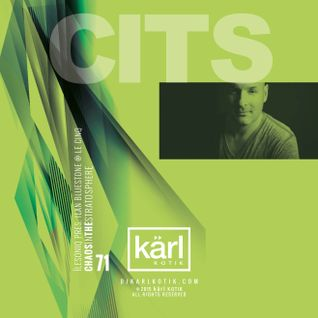 dj karl k-otik - chaos in the stratosphere episode 071b - live with ilan bluestone @ le cinq