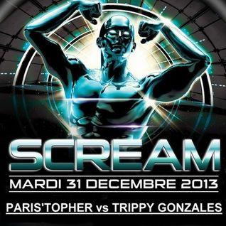 T&T (Paris'Topher vs Trippy Gonzales) Live @ Scream NYE (Paris) 01.01.2014