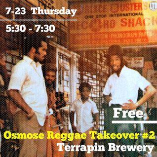 Osmose - Reggae Takeover #2 at Terrapin Brewery