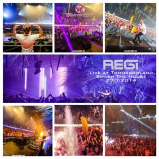 Regi Live At Tomorrowland 2014 - Smash The House Stage