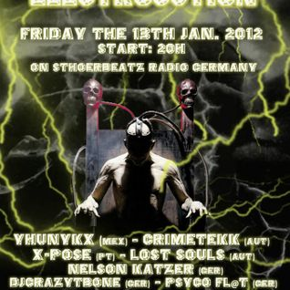 CrimeTekk - Electrocution on STHOERBEATZ Radio Germany 13.01.2011