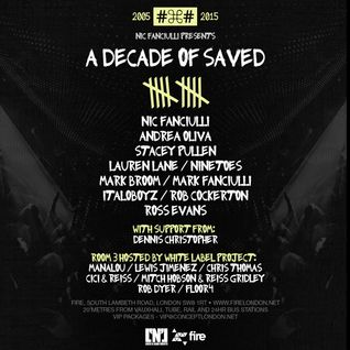 Andrea Oliva - live at A Decade of Saved, Fire, London - 07-nov-2015