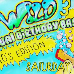 """wet & wild 3 Rizzo's annual birthday bash! 90s edition"""