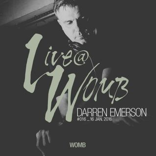 Live at WOMB #016 - Darren Emerson - 16th January 2016