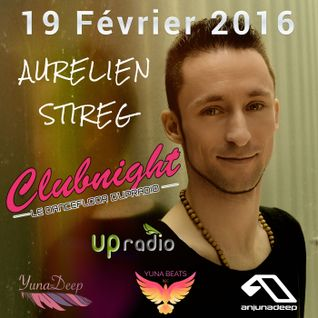 Aurelien Stireg - Upradio live set Deep House February 2016