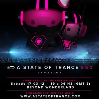 #ASOT550 - Fei-Fei - Live at Beyond Wonderland in Los Angeles, USA,CA (17.03.2012)