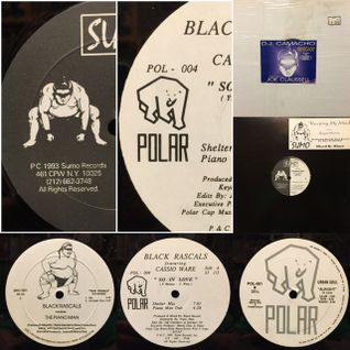 Sumo & Polar Record !!! Deep Piano mix !! '91-'94 Black Rascals ( Blaze )!!! Joe Claussell !!
