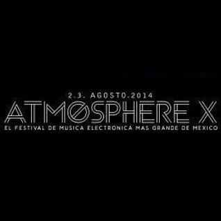 Chris Fortier - Live at Atmosphere X Festival, Mexico (02-08-2014)