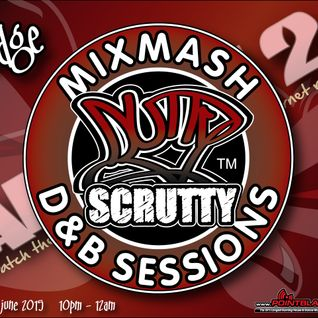 Scrutty MiXMasH D&B Sessions Show 1 with Dodge