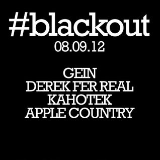 Apple Country Live #blackout 08-09-12