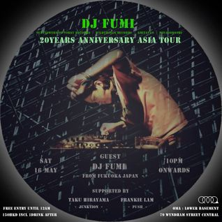 """der. x dj fumi 20years anniversary asia tour"" May 16_1, 2015"