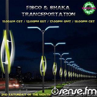 Fisco and Shaka -  Tranceportation 010 (10-09-2011) @ Sense.FM