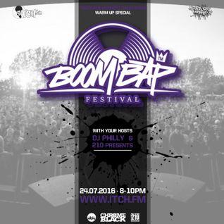 DJ Philly & 210 Presents - Trackside Burners Radio Show 142 - Boombap