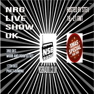NSB Radio - Stex Djset - 3 dec 2015 - NRG Live Show UK