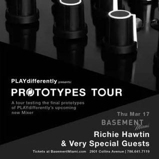 Chris Liebing @ Prototypes Tour Basement Miami 17.03.2016