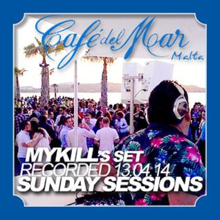 Cafe' Del Mar Sunday Sessions Mykill Set Summer 2014
