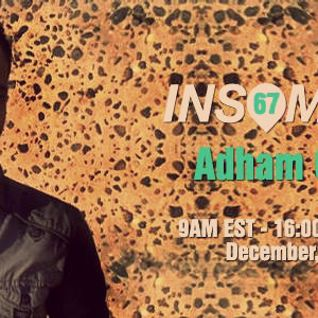 Adham Goda - Guest Mix For InsomniaFm  [25th December 2013]