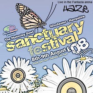Haze @ Fantazia - Sanctuary Festival '08
