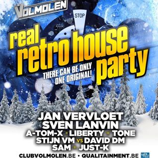 dj A-Tom-X @ Club Volmolen - Real Retro House 19-12-2014