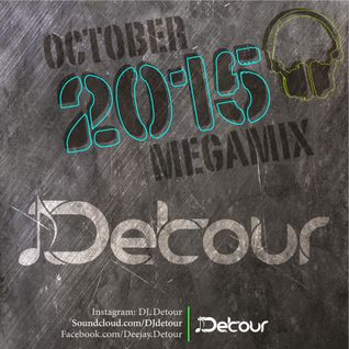 DJ Detour October 2015 MegaMix