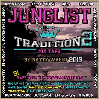 DJ NATTY WALLO - JUNGLIST TRADITION VOL 2 (2013)