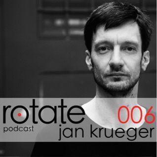 Rotate Podcast 06 - Jan Krueger (2013)