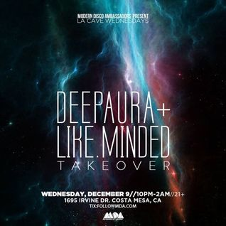 Like.Minded B2B (Matt Hill, Borbi & Anderson M) - Live @ La Cave (12.09.2015)