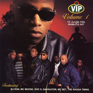DJ Ron w/ Moose, Five O, Navigator, Det & The Ragga Twins - VIP Champagne Bash - Volume 1 - 1994