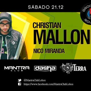 #New Age Grooving Route  W/ Christian Malloni (Get Slow) @Mantra Club Lobos 1ra Hora Wup