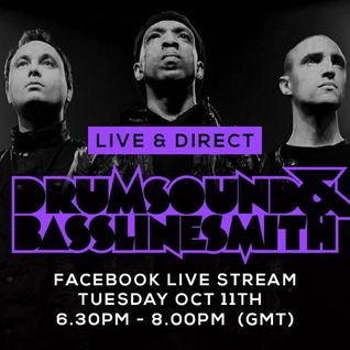 Drumsound & Bassline Smith - Live & Direct #7 (11/10/16)