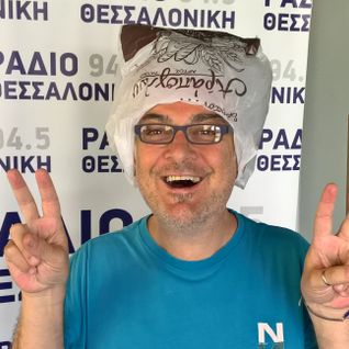 Diogenis Daskalou At Radio Thessaloniki - 24052016