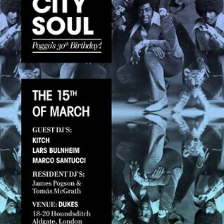 Inner City Soul: A London Soul Club (Mix #2 - Jan2014)