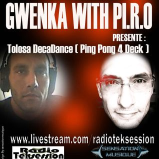Tolosa DecaDance - Gwenka with Pi.r.o from tlse @ RadiotekSession 25/05/2012