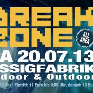 Breakzone 20.07.2013 Promomix