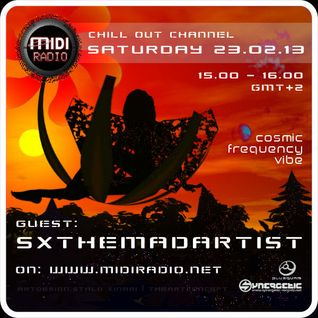 SXtheMadArtist [Cosmic Frequency Vibe] MidiRadio.net