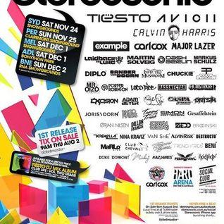 Tiesto - Live @ Stereosonic Festival 2012 (Melbourne, Australia) - 01.12.2012