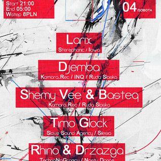 LARIX- Techno Na Granicy 8 / Cieszyn / Poland 06.04.2013