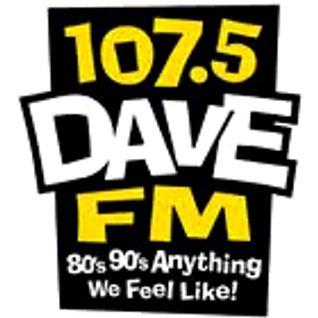 DAVE FM Aircheck - Originele copywriting en imaging