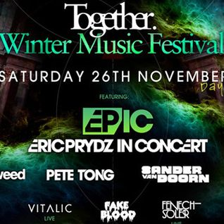 Eric Prydz - Kiss Presents - Recorded live from Together's Winter Music Festival - 08-dec-2011