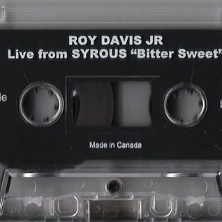 Roy Davis Jr. - Live At Bitter Sweet, Toronto, 1999