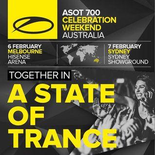 Aly & Fila live @ A State of Trance 700 Sydney - 07.02.2015