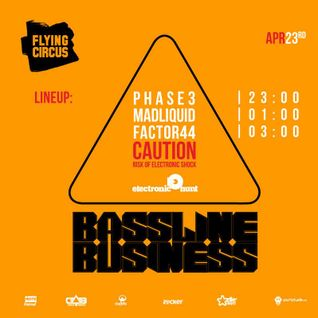 Phase 3 - Bassline Business @ Flying Circus Pub, 23 apr 2015