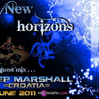 Deep Marshall - New Horizons 013 Guest Mix [17 June 2011] on InsomniaFm