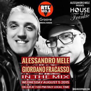 HOUSE OF FRANKIE MIXSHOW - ALESSANDRO MELE + GIORDANO FRACASSO